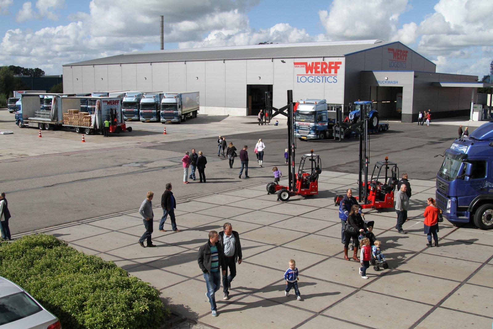 Overzichtsfoto open dag 2012